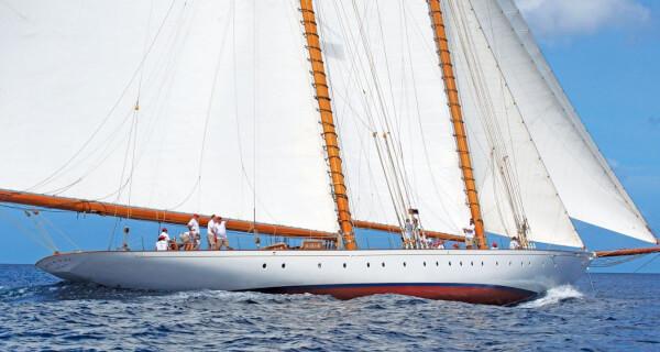 Steve McLaren's schooner Elena of London. Photo curtesy of Peter Marshall/MGRBR