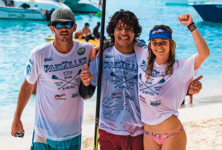 Team Mexico (from left) Ryan Helm, Bicho and Shelby Taylor. Photo by Magi Foster