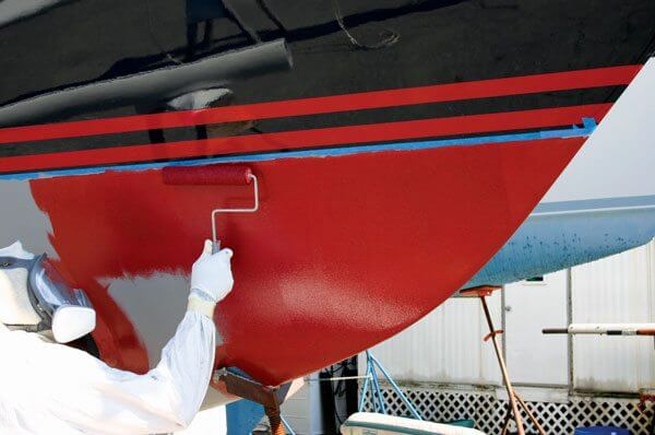 How to maintain bottom paint - Photo by Roger Marshall