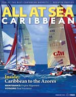 All At Sea - The Caribbean's Waterfront Magazine - February 2015