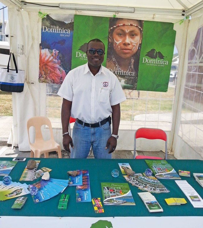 Winston has represented Dominica at almost all Caribbean boat shows