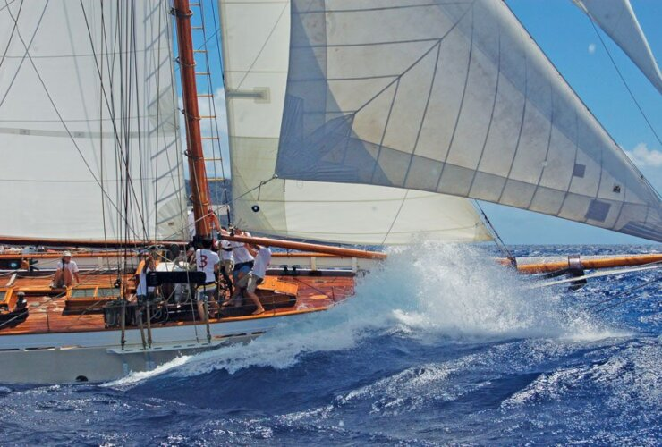 Antigua Classic Yacht Regatta. Photo courtesy of Antigua Classics Regatta