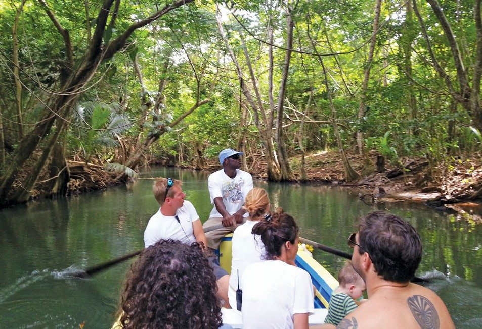 A tour of the Indian River is a Dominica 'must do'