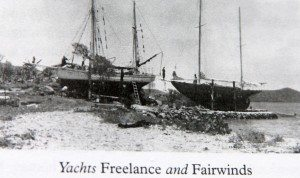 Trellis Bay Slipway in the 1950s