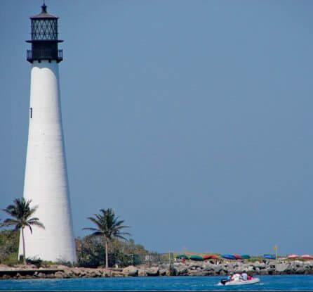 Cape Florida Lighthouse. Photo by Kathy Bohanan Enzerink