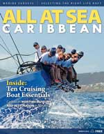 All At Sea - The Caribbean's Waterfront Magazine - March 2015