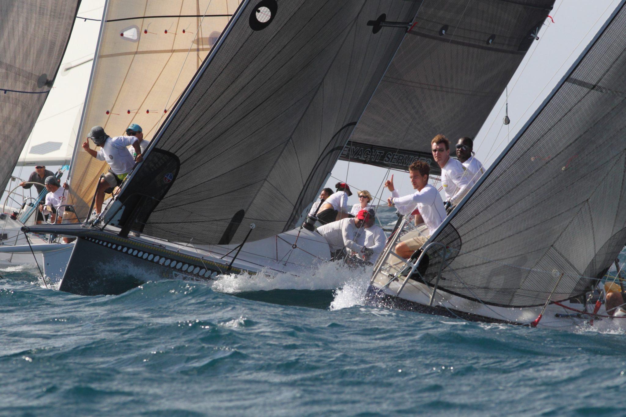 Tight start at Grenada Sailing Week