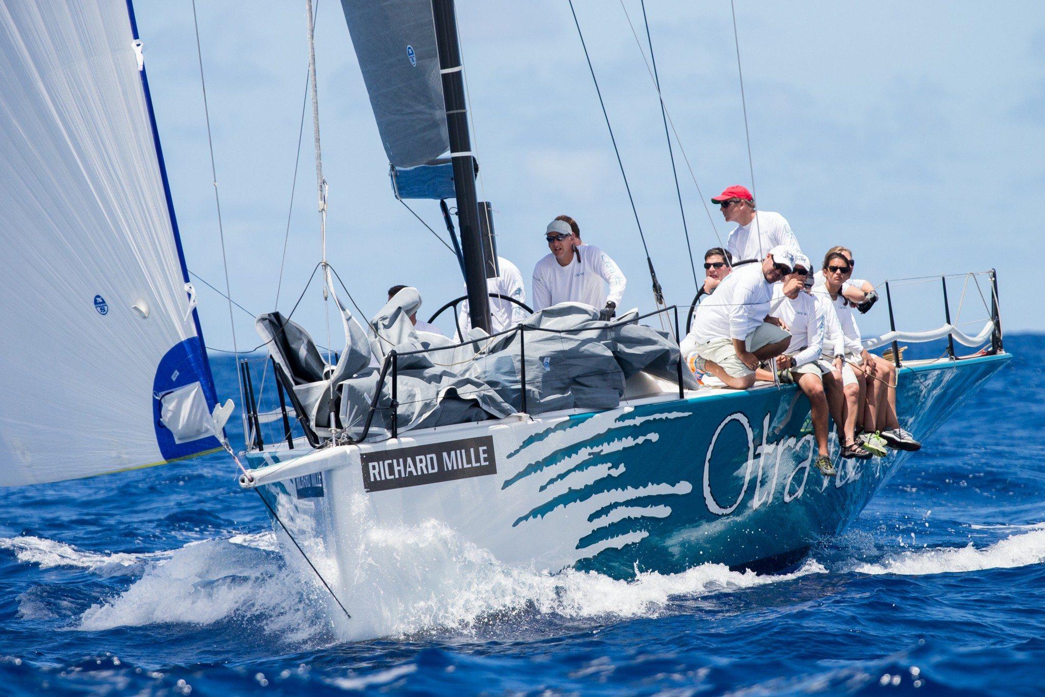 « Otra Vez » the boat of William Coates © Jouany Christophe