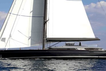 The Perini Navi Group, world leader in the design and construction of large motor and sailing yachts, has completed the delivery of Perseus^3, the second yacht in their new generation 60m series and the first sloop.
