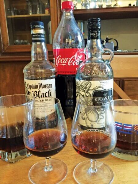 Kkraken vs. Captain Morgan! Kraken Spiced Rum vs. Captain Morgan's Spiced Rum. What is better for sipping? What is better as a mixer?