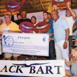 Team Naira, from Aruba, was named Top Boat. Photo courtesy of Curaçao Yacht Club