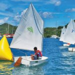 Junior Sailing Regatta at Clarke's Court Bay. Photo courtesy of Sarah Baker & Steve Brett