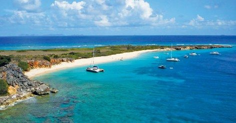 Tintamarre, French St. Martin. Photo: Turquoise & Office de Tourisme de Saint Martin