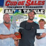 Winning Angler Walter Harrell. Courtesy of Big Pine & Lower Keys Chamber of Commerce