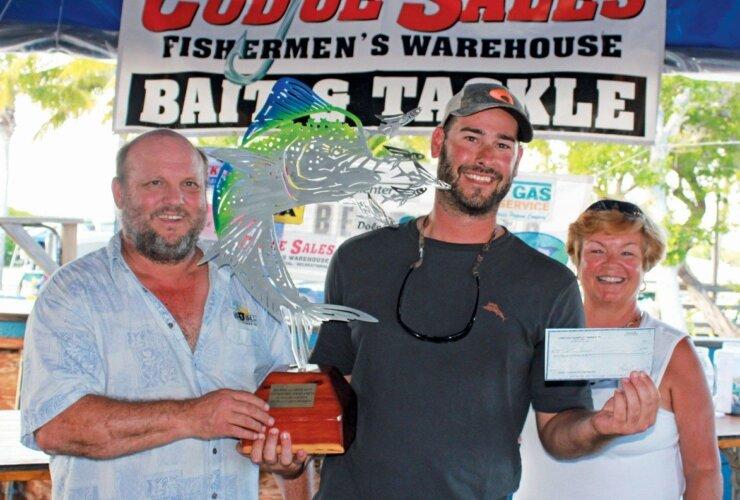 Winning Angler Walter Harrell. Courtesy of Big Pine & Lower Keys Chamber of Commerce