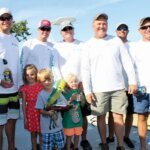 1st Place Conetagious with future tournament winners. Photo courtesy of Islamorada Dolphin Tournament
