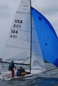 New, STIR Welcomes up to 18 boats in the one-design VX One Class. Credit: Tim Pitts