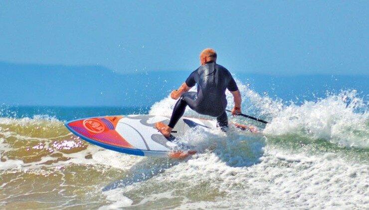 RRD surf SUP. Photo by Tez Plavenieks