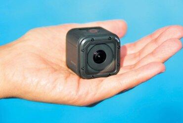 GoPro's new tiny but capable Hero Session camera. Photo: Glenn Hayes