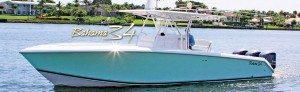 The Bahama 34. Photo courtesy of Bahama Boat Works