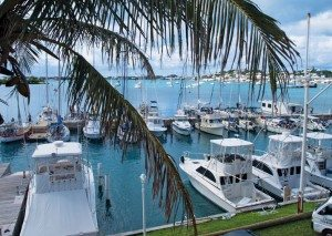 NARC fleet at the St. George's Dinghy Club, Bermuda