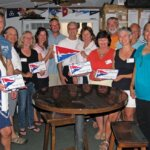 New members at the general meeting. Photo courtesy of Upper Keys Sailing Club