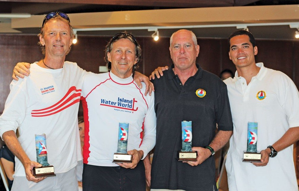Winners of the IC24 competition in the 2015 Caribbean Dinghy Championships in Puerto Rico
