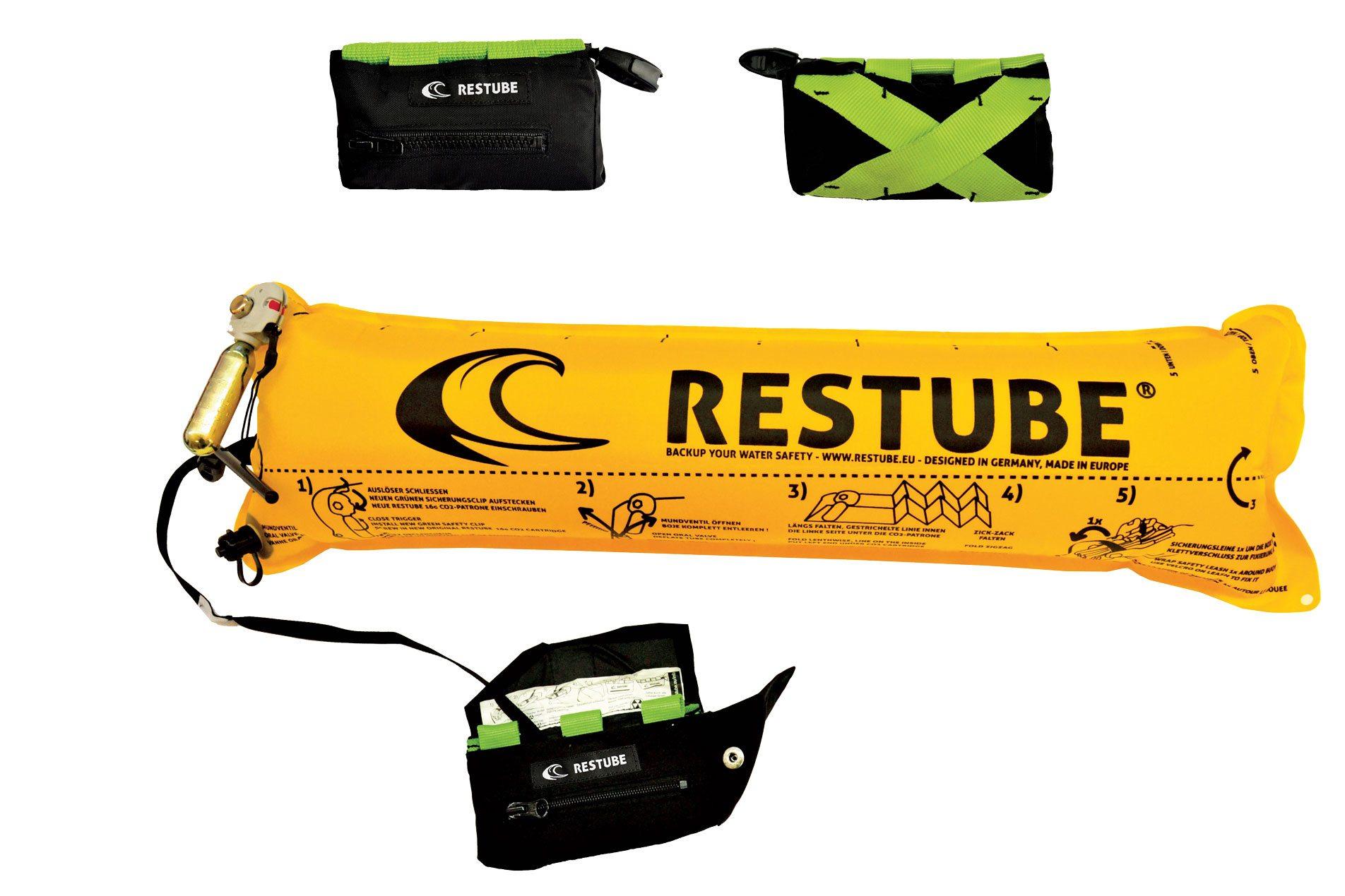 Restube beltpack. Photo courtesy of Restube