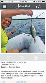 Fishing Apps: Terry's catch on Stackfish