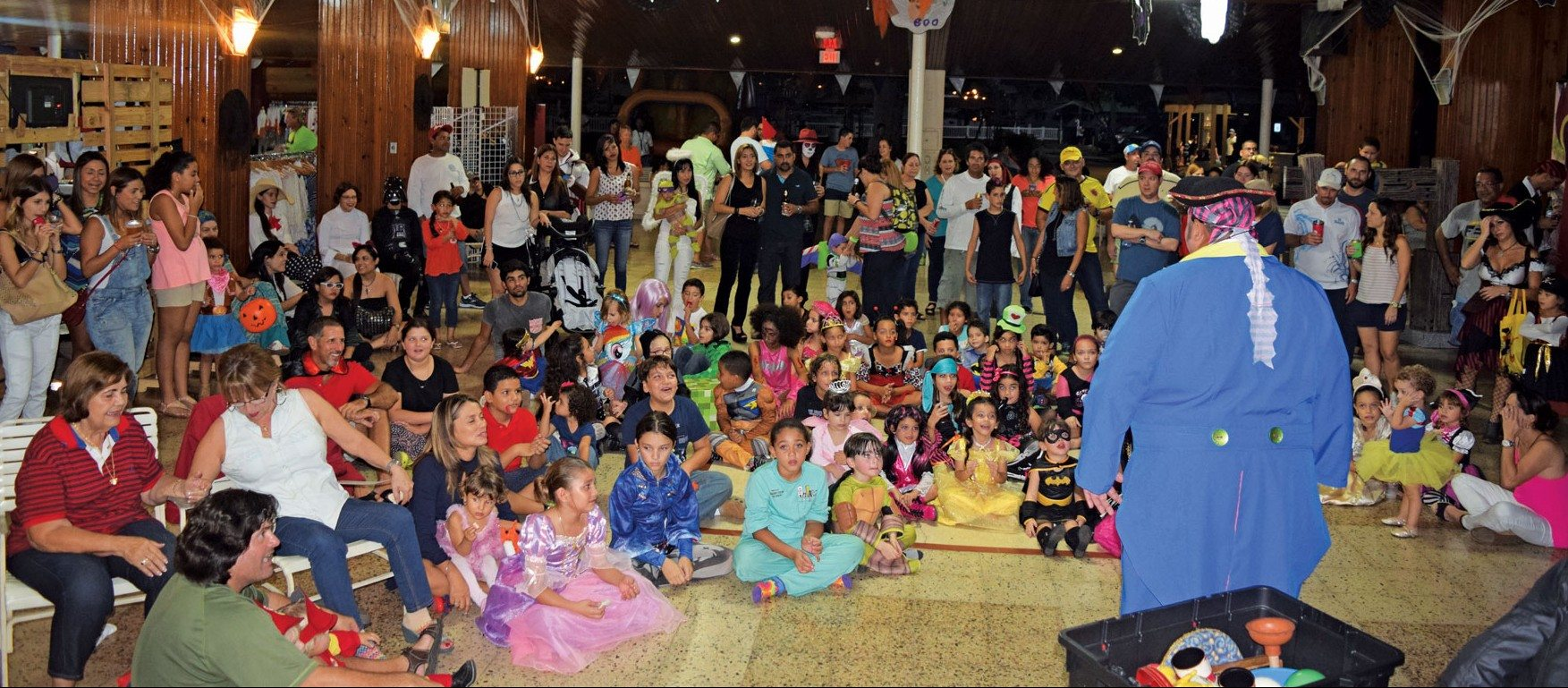 The Discover the Caribbean Series featured a Halloween Party for the kids. Photo by Maria Fernanda Rodriguez
