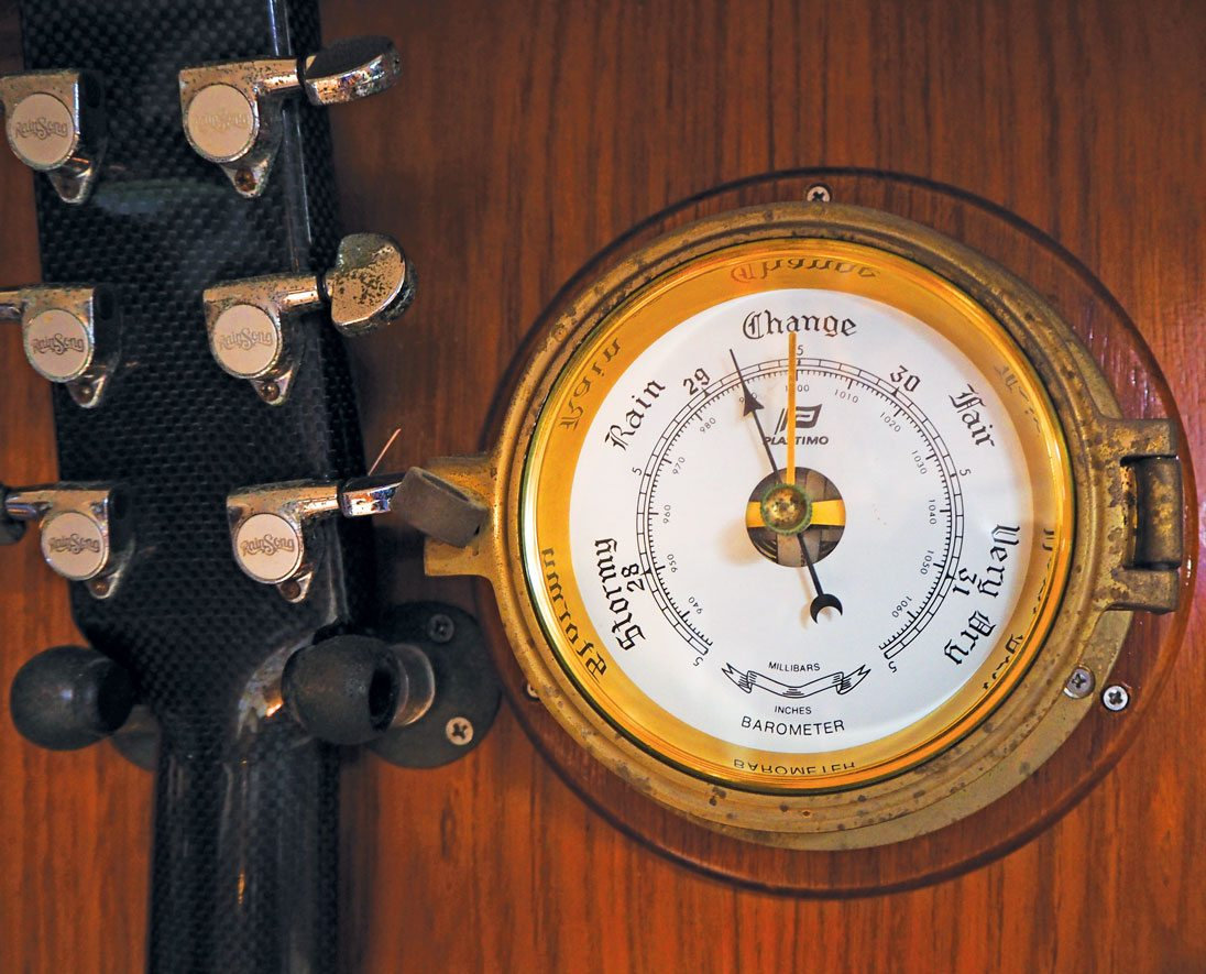 High Praise for the Lowly Barometer by Cap'n Fatty Goodlander