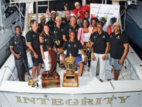 2015 Port Antonio International Marlin TournamentTop Boat – Team Integrity. Photo: Nicholas Mayne