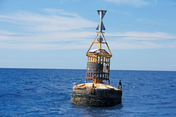 Buoys II: The Cardinal Rule Which direction would you steer to avoid the danger? Photo: OceanMedia