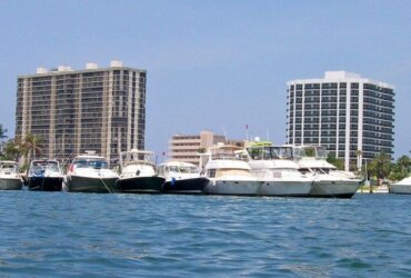 Sail & Power Squadrons: Having Fun, Saving Lives :Pompano Beach's Monthly Raft up Lake Boca. Courtesy of James McEntee