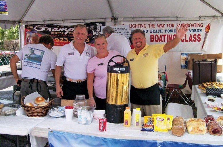 Sail & Power Squadrons: Having Fun, Saving Lives :Volunteering at Dania Beach Marine flea market. Courtesy of James McEntee