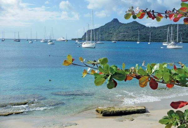 Return to Grenada: A Cruiser Remembers an Invasion: Picturesque Tyrell Bay is protected from the prevailing winds and is a yachting hot spot