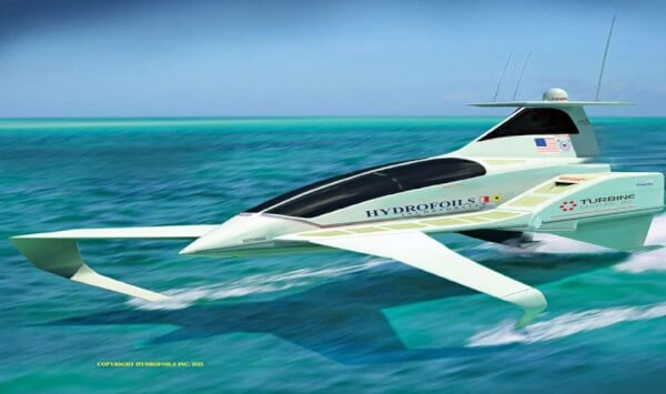 South Florida News HydroFoils Inc. high-speed super boat