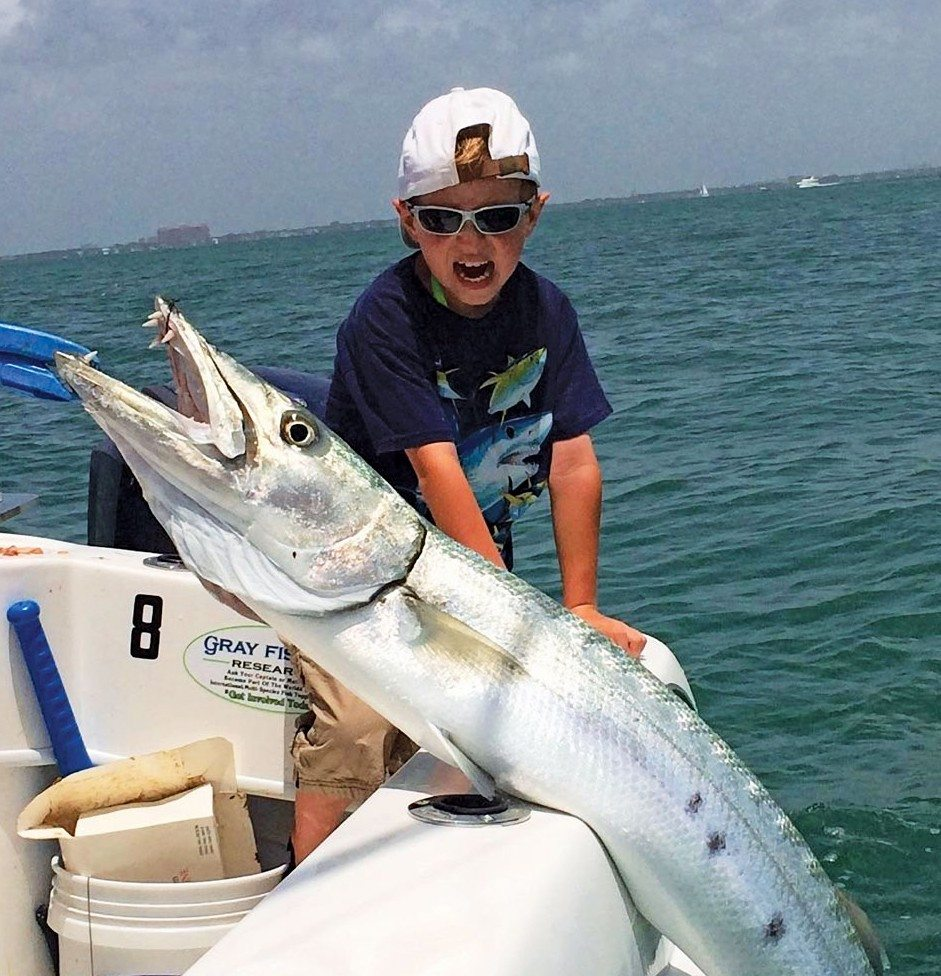 Captain Bouncer Smith Miami loves fishing with kids. Photo courtesy of Captain Bouncer Smith