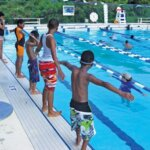 """""""Inspire Giving Through You"""" by IGY Marinas:Repairs and maintenance to a community pool facility in St. Thomas is on the list of IGY projects. Photo courtesy of Jimmy Loveland"""