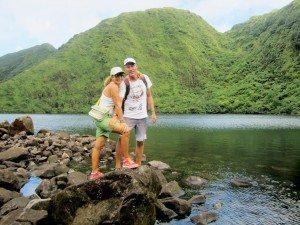 Dominica, the Island of 365 Rivers: Boeri Lake. Photo by Monica Pisani