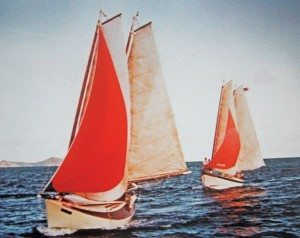 Cowhorn-Schooner-Violet-(in-the-lead)-Sea-Legs-behind