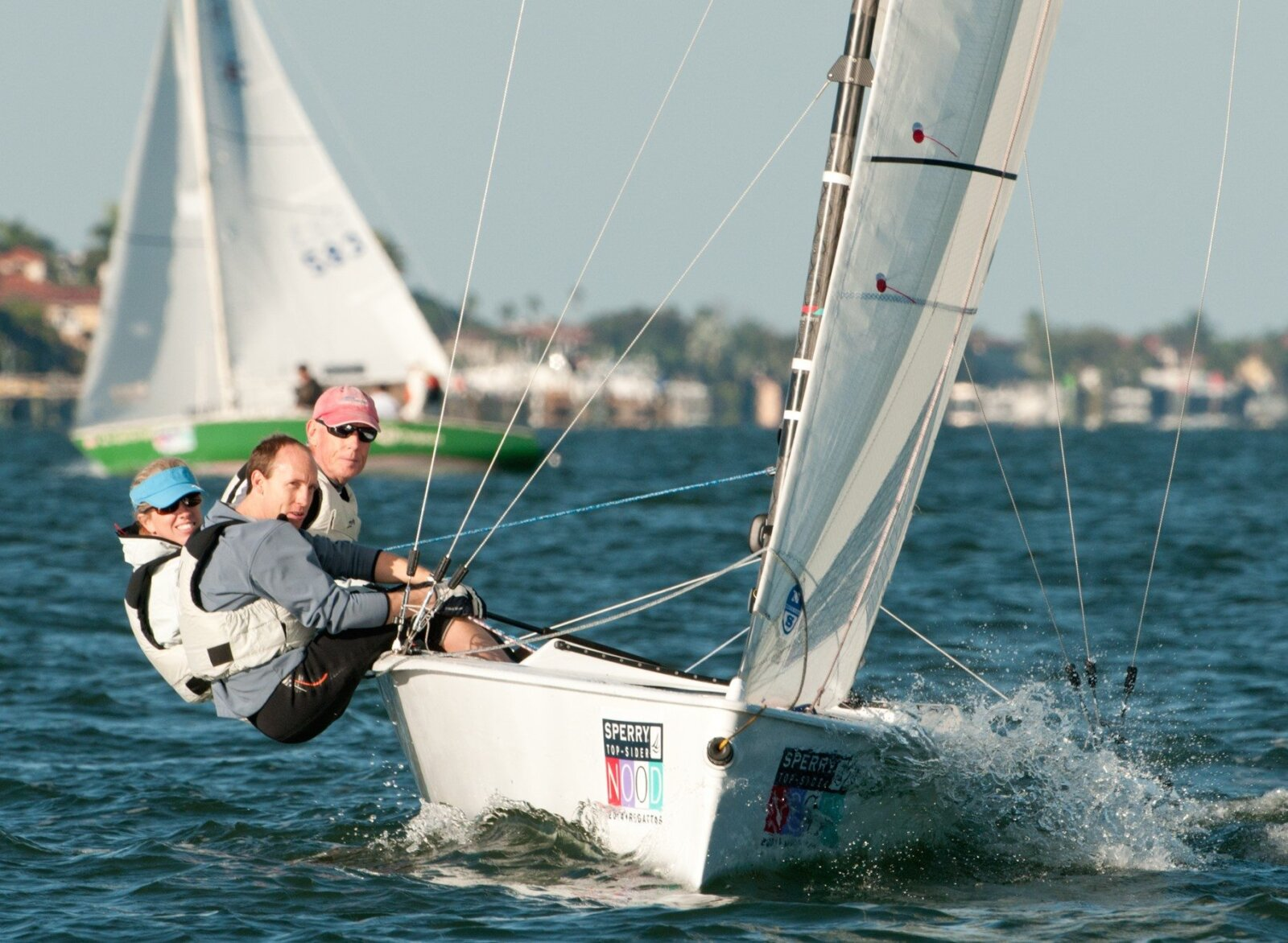 Andy Walford, wife Beth and son, Richard will race Commando, their VX One in this new STIR one-design class.