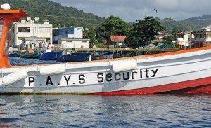 Dominica Yachtie Appreciation Week:The P.A.Y.S. security boat