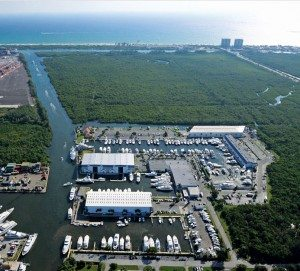 Hauling Out Catamarans South Florida: Courtesy of Harbour Towne Marina