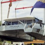 Hauling out Catamarans in South Florida