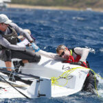 St Thomas International regatta 2016, day 1 in the VX One Class. Credit: Ingrid Abery.