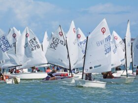 Pan Pepin International Dinghy Regatta: Photo credit: Carlos Lee