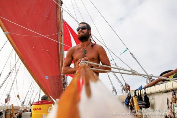 © 2015 Polynesian Voyaging society; Photo: 'oiwi tv • Photographer: Jason Patterson