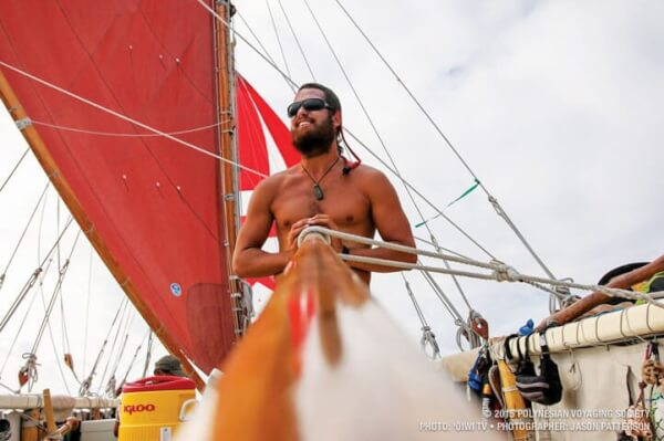 In the Wake of Their Ancestors: © 2015 Polynesian Voyaging society; Photo: 'oiwi tv • Photographer: Jason Patterson