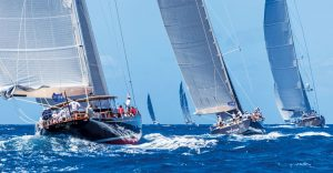 Loro Piana Superyacht Regatta: Part of the magnificent fleet taking part in this year's Loro Piana Regatta
